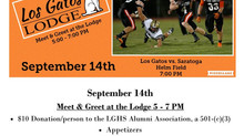 Los Gatos Alumni Night at the Football  Game - Sept. 14, 2018