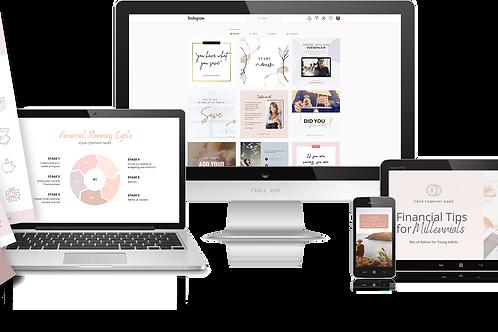 Done-For-You Financial Advisor's Marketing Kit - Plush