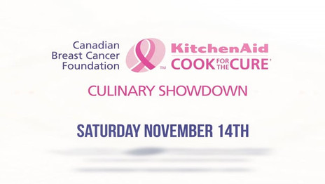 KitchenAid Cook for the Cure - Culinary Showdown