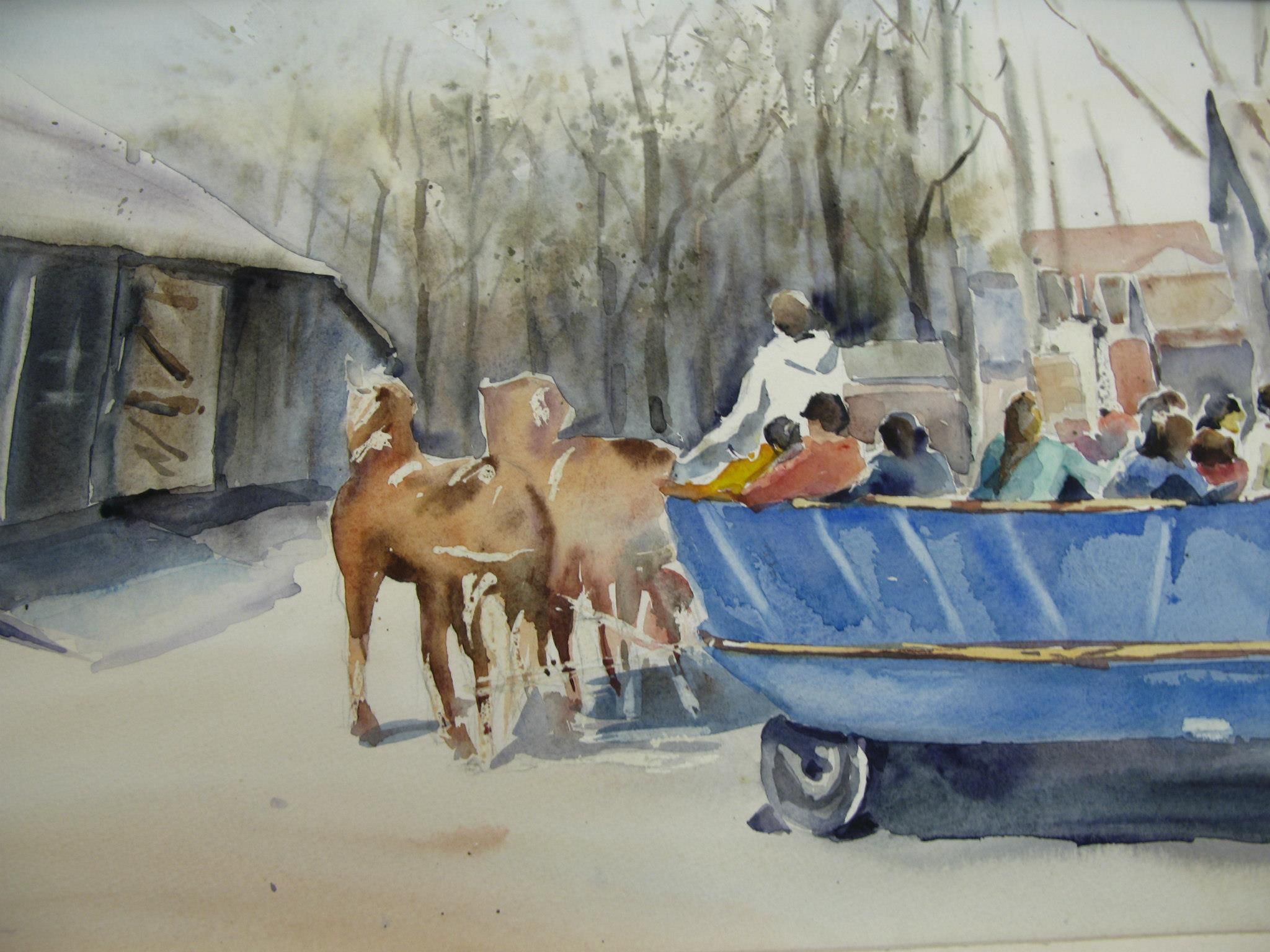Wagon ride in Pioneer Village.jpg