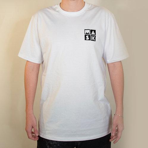 T-Shirt Basic White Black