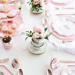 Tea time! Table de goûter réalisée pour