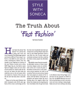 The Truth about ...FAST FASHION