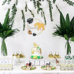 ~Jungle par ~ sweet table pour l'anniver