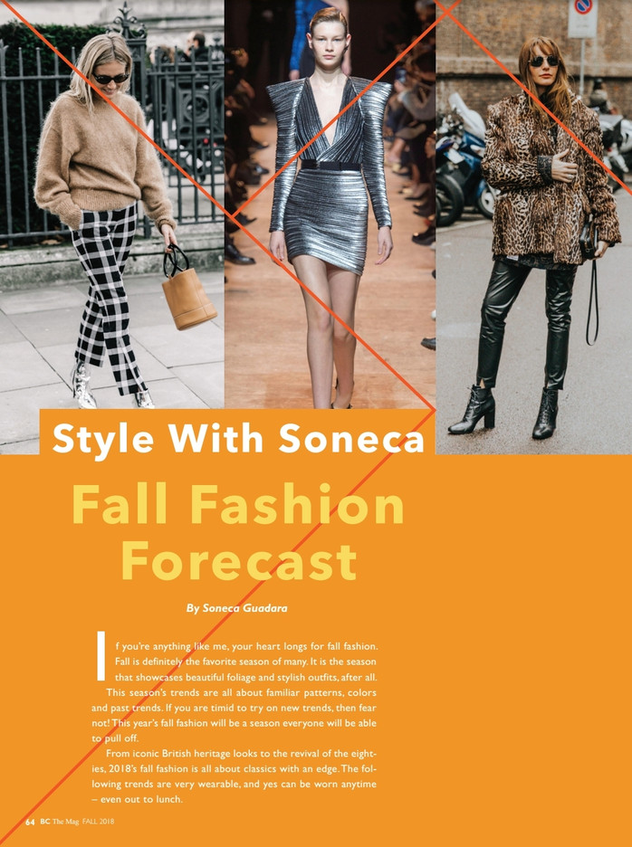 Fall Fashion Forecast