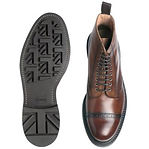 Cheaney Orwell B Country Derby Boot in Conker Calf Leather