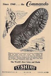 Vintage advert - Itshide Commando 1940s.
