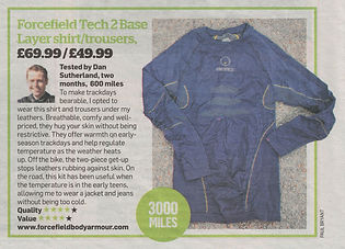Tech 2 Shirt and Pants in MCN - May 2019