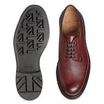 Cheaney Teign II B Derby in Burgundy Grain Leather