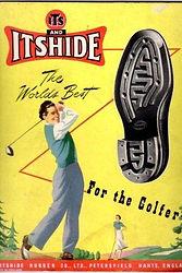 Vintage advert - Itshide Golfer 1940s.jp