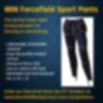 Win Forcefield Sport Pants competition -