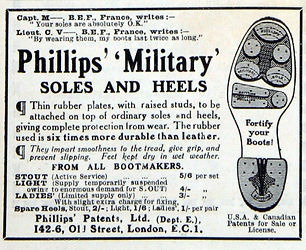 Phillips Military Soles and Heels
