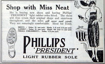 Phillips President Light Rubber Sole
