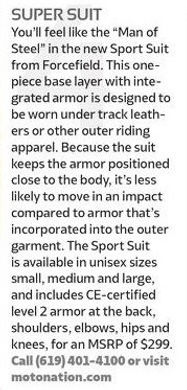 RiderMagazine.com - Sport Suit - Oct 201