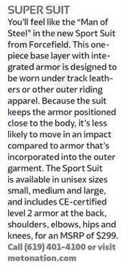 RiderMagazine.com - Sport Suit - Oct 201