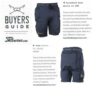 In The Snow Buyers Guide - Boom Shorts T