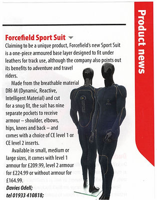 International Dealer News - Sport Suit -