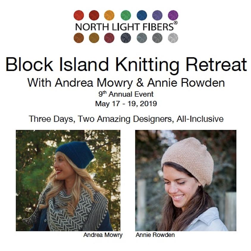 North Light Fibers 2019 Block Island Knitting Retreat