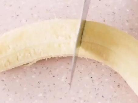 Receita: Banana trufada saudável