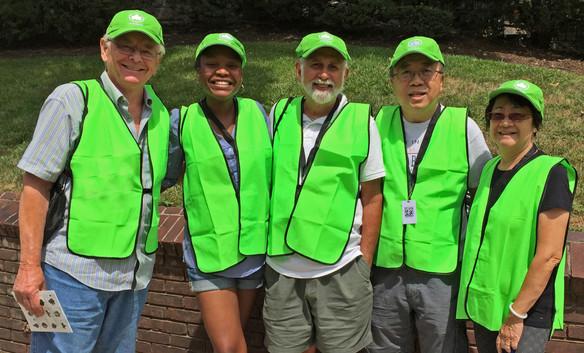JEA volunteers