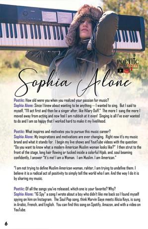 IG: @SophiaAlone