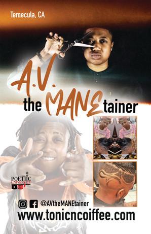 IG: @AVtheMANEtainer
