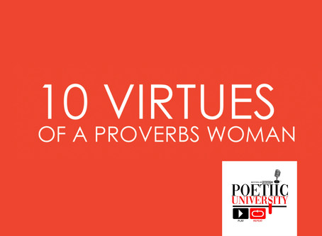 10 Virtues of a Proverbs Woman