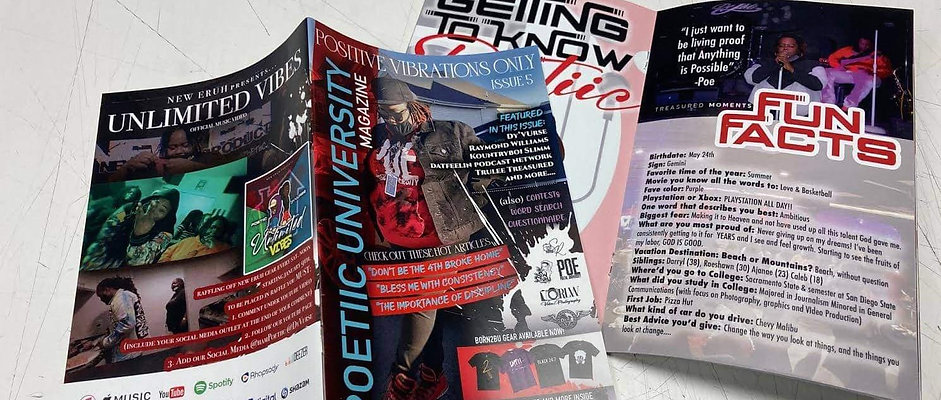 Poetiic University Magazine