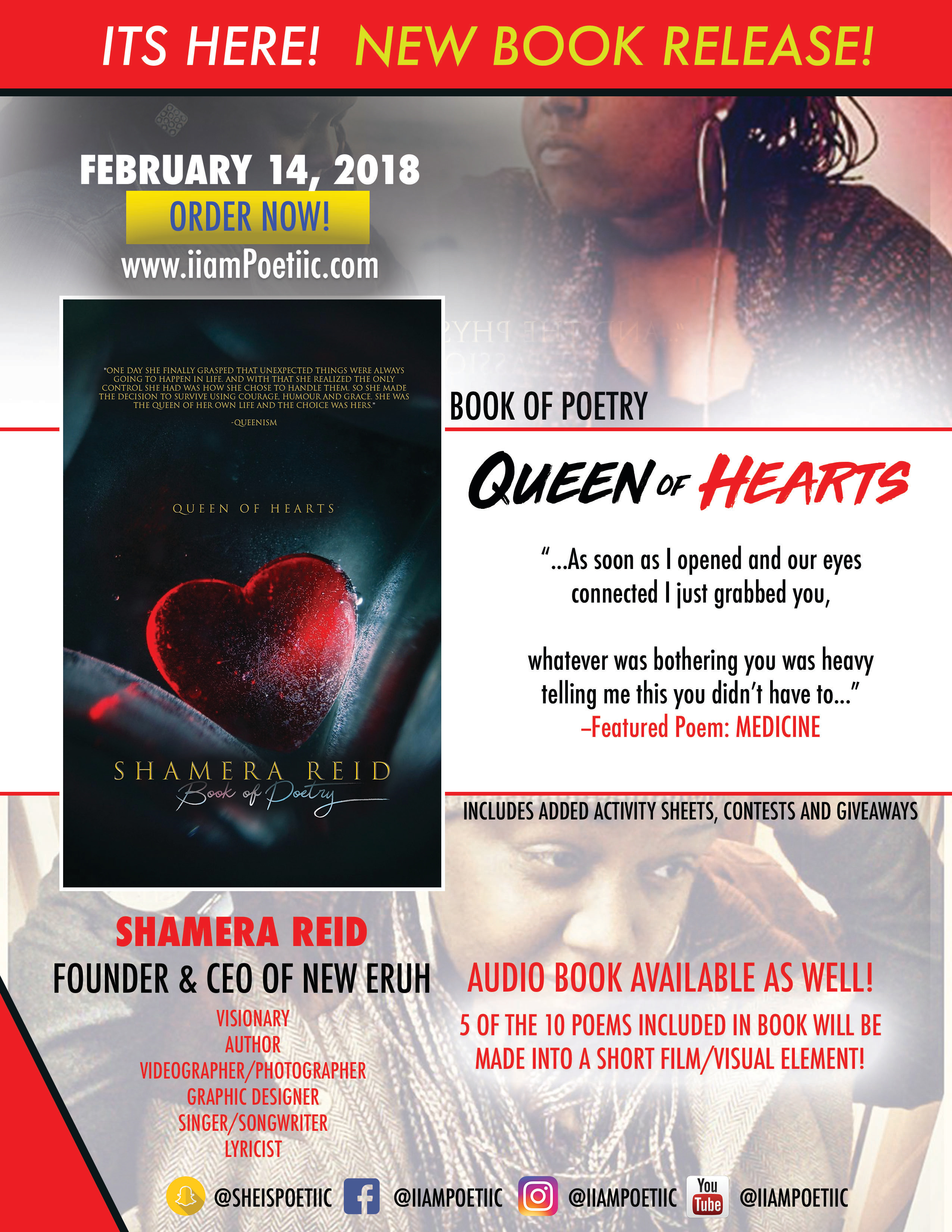 QUEEN OF HEARTS order NOW