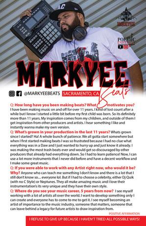 IG: @MarkyeeBeats