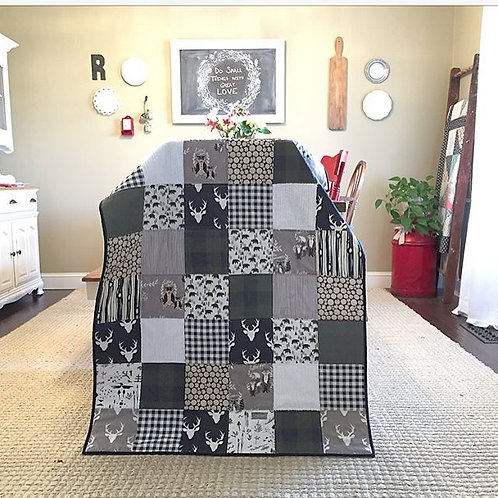 Toddler/Crib Size Custom Quilt