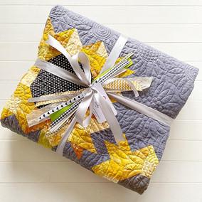 Sunflower Quilt Christmas Gift