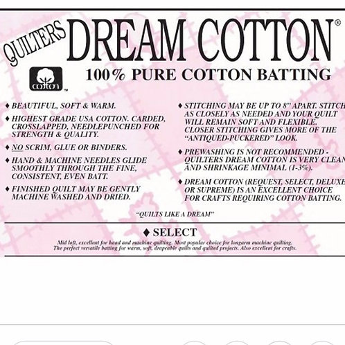 Quilter's Dream 100% Cotton Select - White