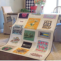t-shirt memory quilt longarm quilting