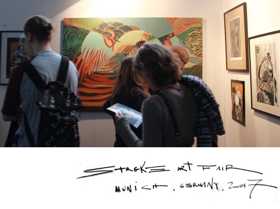 Stroke Art Fair, 2017.