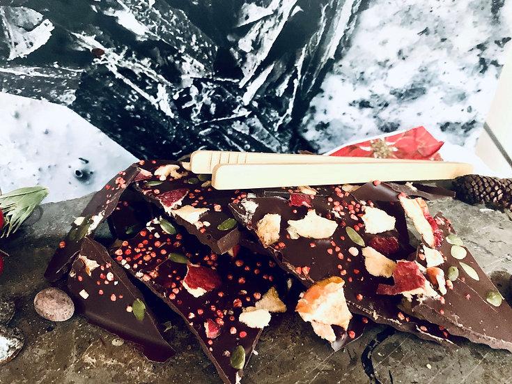 Chocolate Bark Fruits x 100 grs