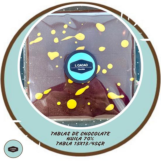 Tabla 70% cacao