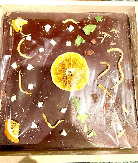 Tabla Chocolate Quebrado Naranja cuadrado