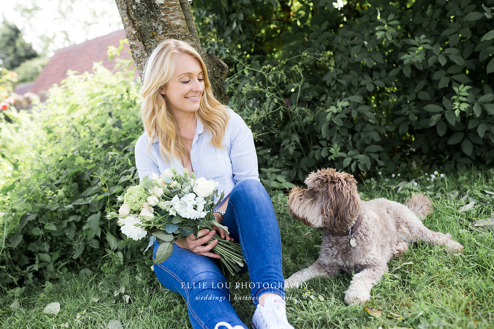 Ellie Lou Photography - Personal Branding Shoot with Daisy Lane Floral Design