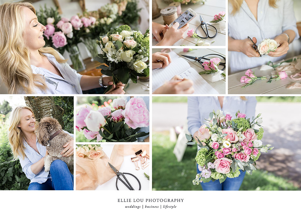 Ellie Lou Photography - Personal Branding Photoshoot with Daisy Lane Floral Design