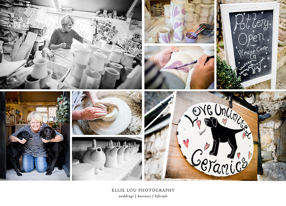 Ellie Lou Photography - Personal Branding Photoshoot with Love Unlimited Ceramics