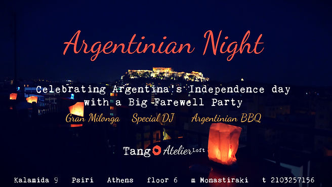 Argentinian Night dia de la independenci