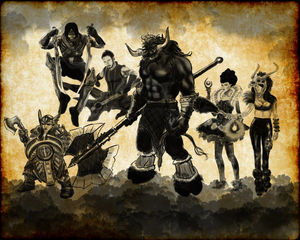 STAMPEDE!: Unearthed Arcana Centaurs and Minotaurs
