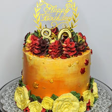 80th Birthday Carrot Cake