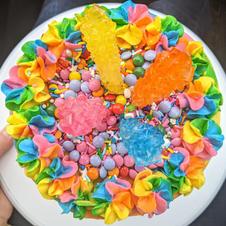 Kids Rainbow Birthday Cake