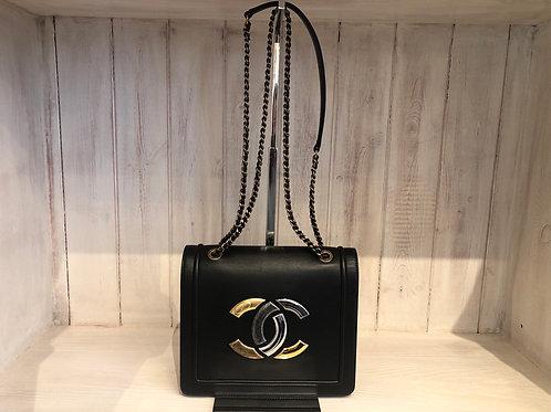 Chanel Antico large flap lamb skin bag