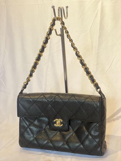 Chanel single classic flap