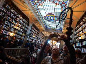 Conheça a livraria em Portugal que serviu de inspiração para Harry Potter