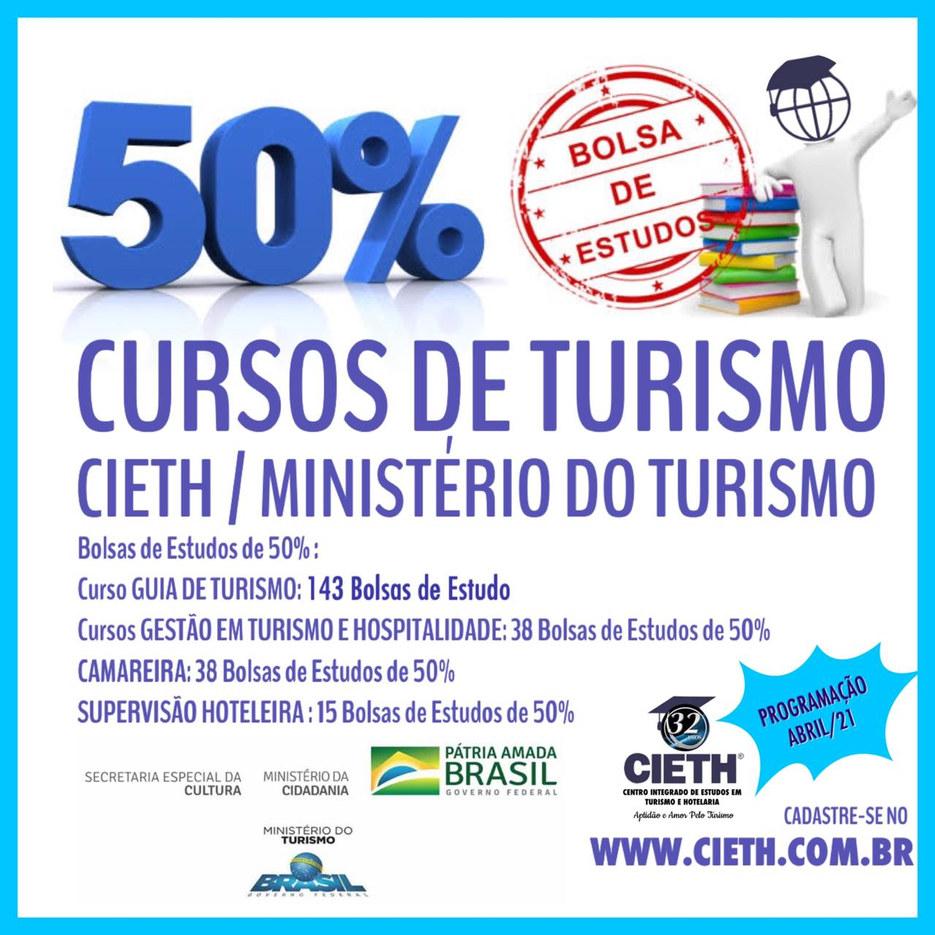 Projeto Bolsas de Estudos Ministério do Turismo & CIETH