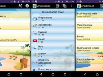 Cinco apps que ajudam na hora de arrumar a mala